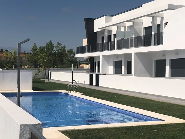 New built apartments in Gran Alacant