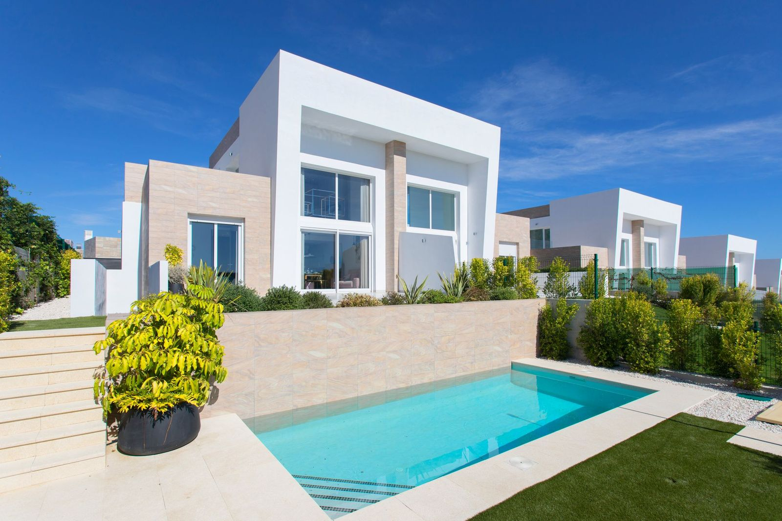 New built villa´s in La Finca Golf