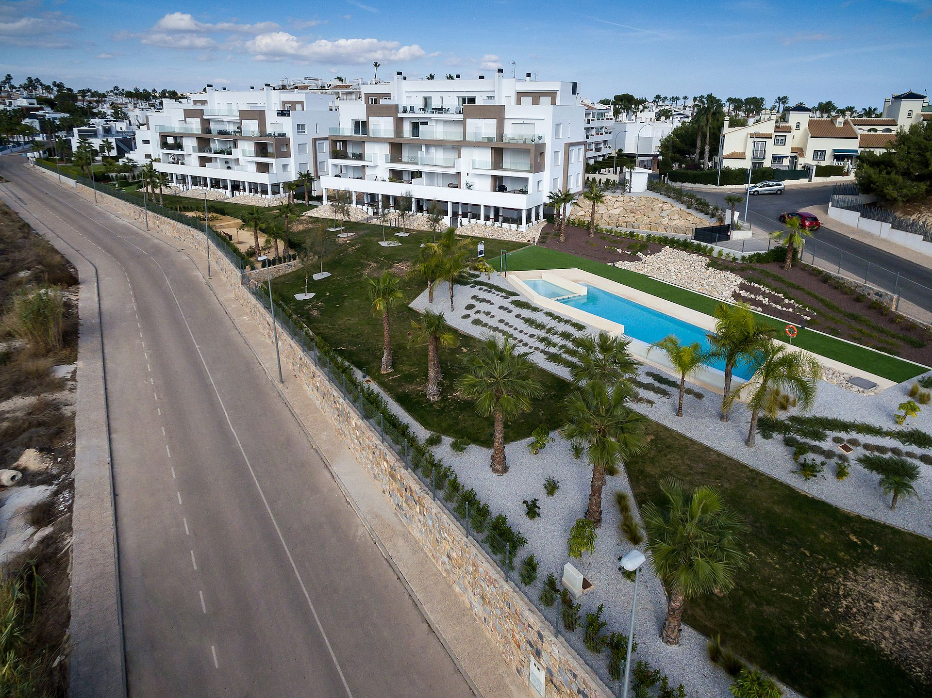 New built apartments in Villa Martin
