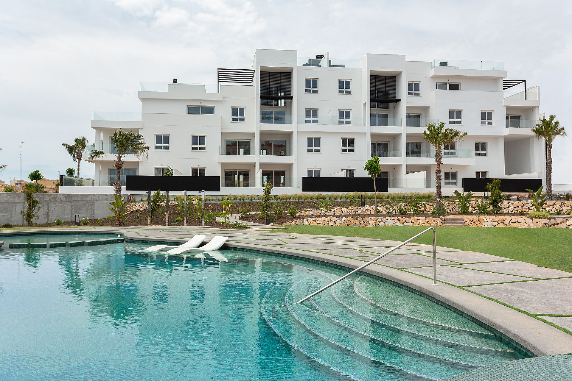 New built apartments in Punta Prima