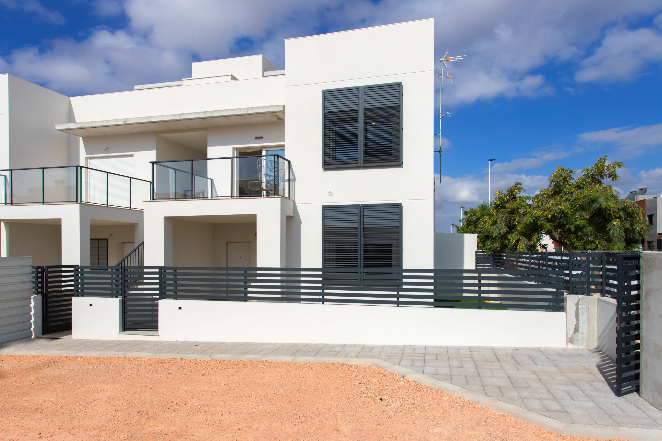 New built bungalows in Torrevieja