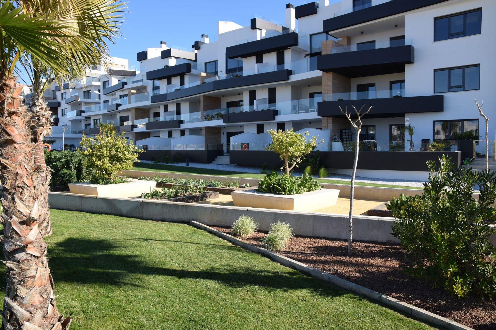 New built apartments in Los Dolses