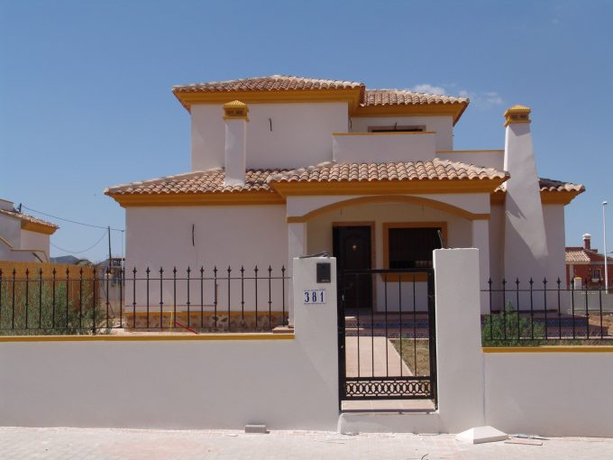 New built villa in Hondon De Las Nieves